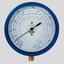 Refco R3 Series Oil Filled Bellow Pressure Gauges